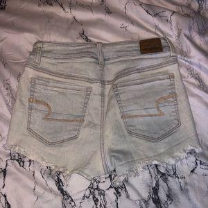 American Eagle Light Wash Denim Jean Shorts